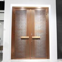mulas慕拉斯智能門現代輕奢風格銅門、鋁門、巖板門生產廠家圖片