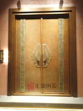 匯盈銅藝HY-Z05中式銅門定制、廠家發貨安裝,招商加盟圖片