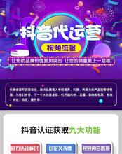 抖音快手蓝V认证运营推广文案策划