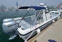 烟台海钓艇专业钓鱼艇灵山兄弟10米钓鱼艇海上工作艇图片