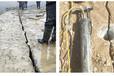 石方工程專業靜態開裂機代替爆破麗水推薦