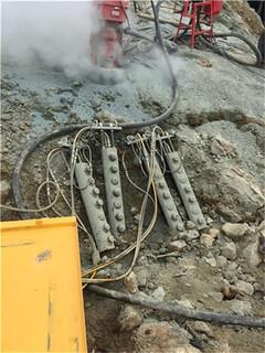 深圳地基基坑坚硬岩石破开怎么产量高代理图片1