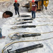开采岩石效率比较高的破石机械设备锡林郭勒市场价格图片