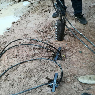深圳地基基坑坚硬岩石破开怎么产量高代理图片6