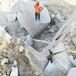 龙岩露天采矿剥离硬石怎么开采石头批发