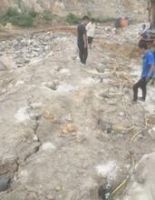 地下礦山靜態拆除石頭劈石機永州出售圖片