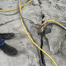 岩石解体机械液压岩石劈裂设备黄冈推荐图片