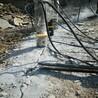 新疆區柱塞式劈裂棒石塊