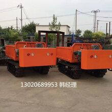 山东小巧灵活操作机械橡胶履带式运输车供应