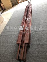 青海酒店大門紅古銅不銹鋼拉手定做鋁藝+不銹鋼拉手專業加工廠圖片