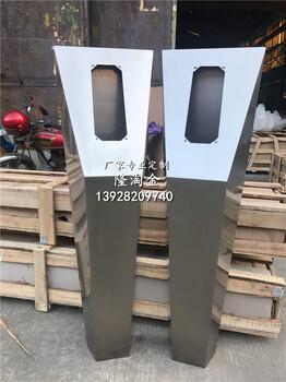 国标304不锈钢人脸识别立柱厂家河北单元不锈钢门口机外壳