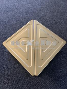 拉丝钛金铝板拉手生产厂家商场大门铝艺拉手实拍图片