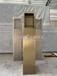 工程不銹鋼門口機立柱圖片國標304不銹鋼小區讀卡立柱廠家定做