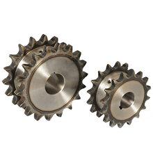 4分鏈輪臺輪節距12.7單排鏈輪工業機械配件非標機械鏈輪圖片