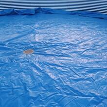 镀锌板养殖帆布鱼池虾池一站式采购图片