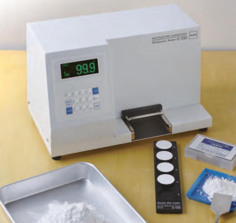 有现货,日本凯特kett陶瓷粉,滑石粉、石灰等粉体百度计C-130