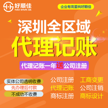 深圳龙岗代理记账专业处理税务,一般纳税人代申请记账报税