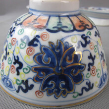 斗彩團菊紋碗的一般上門交易價格是多少圖片