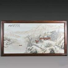 徐細奎瓷板畫快速交易哪能高價圖片