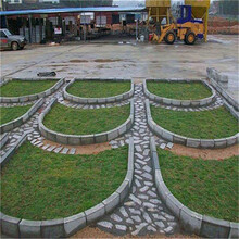 西藏預制構件生產線邊溝蓋板生產線流水線生產圖片