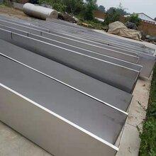 不銹鋼天溝焊接加工,薄板不銹鋼排水槽圖片
