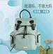 上海方振箱包工廠生產定制媽咪包多功能大容量母嬰包包女包寶媽媽外出嬰兒收納雙肩背包