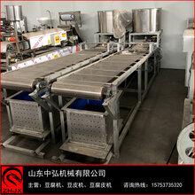河南洛阳仿手工豆腐皮机全自动千张机高产量