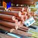 紫銅棒接地導電無氧銅棒t2實心紅銅棒鍛打非標超大棒