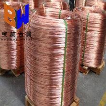 廠家現貨供應T2紫銅線紅銅線無氧紫銅線規格齊全