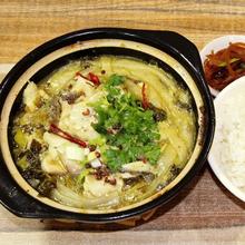 长沙砂锅酸菜鱼培训砂锅酸菜鱼米饭制作流程图片