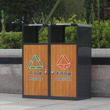 三门峡垃圾桶生产厂家,可定制多种造型加logo