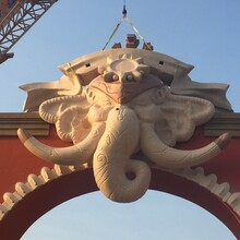 海南大象门头工程图片