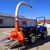 全自动养殖用玉米秸秆青储机四轮带动高效率前置青饲料收获机