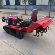 直销全自动乘坐式履带式旋耕机多功能开沟除草起垄回填机