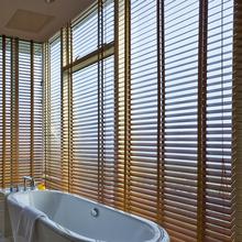 木制實木百葉窗環保水性漆品牌威廉水性木窗底漆耐撞擊防爆裂圖片