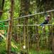 無動力叢林穿梭經營時間長運營成本低
