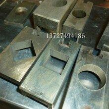 不锈钢方管孔机方管冲方孔设备镀锌管切孔机