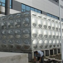 环保设备水箱、拼接式水箱规格不等图片