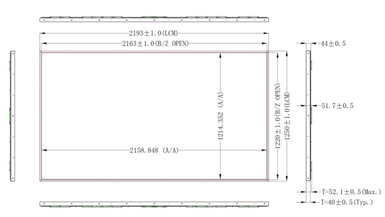 元众高亮98超大尺寸户外超高亮液晶屏发布