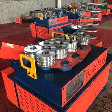 供应椭圆管大棚缩口机方管圆管大棚缩口机全自动液压缩管设备