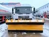 新疆巴音郭楞和碩東風多利卡壓縮垃圾車加裝雪鏟特價