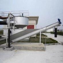 污水预处理设备螺旋式砂水分离器砂水分离设备泥水分离器污水砂水分离