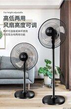 金立电风扇落地扇立式定时摇头16寸升降台式静音风扇家用一件代发图片