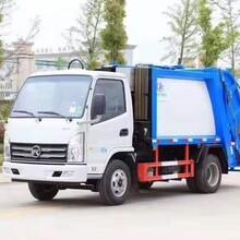 新东日挂桶压缩垃圾车生产厂家图片