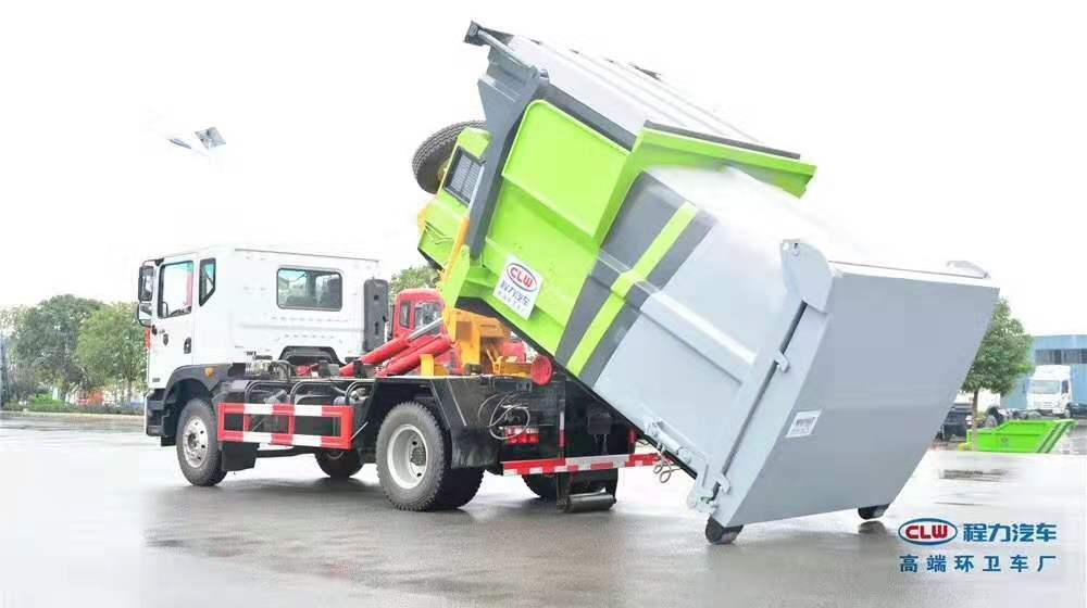 五环8方压缩垃圾车市场报价