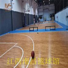 籃球館實木地板圖片