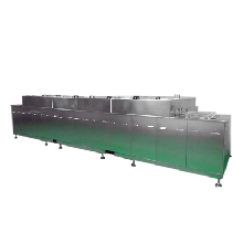 工程机械超声波清洗机通过式清洗设备菱度图片