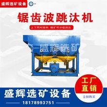 鋸齒波跳汰機采礦跳汰雙桿篩動礦物分選機高效回收選礦重選設備