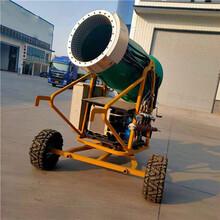 定制大功率造雪机人工造雪机全自动可摇头造雪机图片