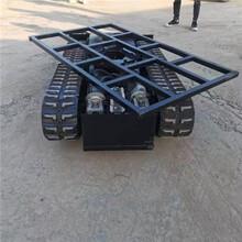 野外勘察用底盤履帶運輸車底盤全自動遙控底盤圖片